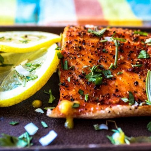 """More Than You Know"" Grilled Cedar Plank Trout"