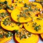 Raw golden beets recipe