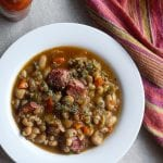 """Baby I'm Scared of You"" Instapot White Beans with Ham Hocks Recipe"