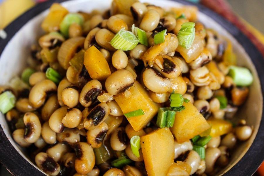 Blackeyed Peas and Rice aka Hoppin John