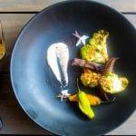 Roasted Portabellas and Green Cauliflower