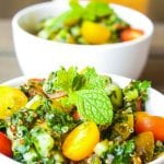 Turnip Greens Tabbouleh