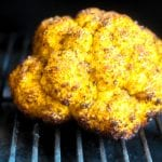 Jerk Smoked yellow Cauliflower