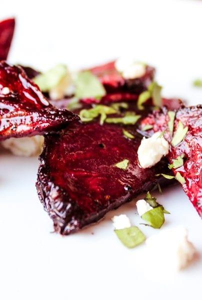 Smoked Beets Salad