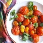 smoked tomato salad