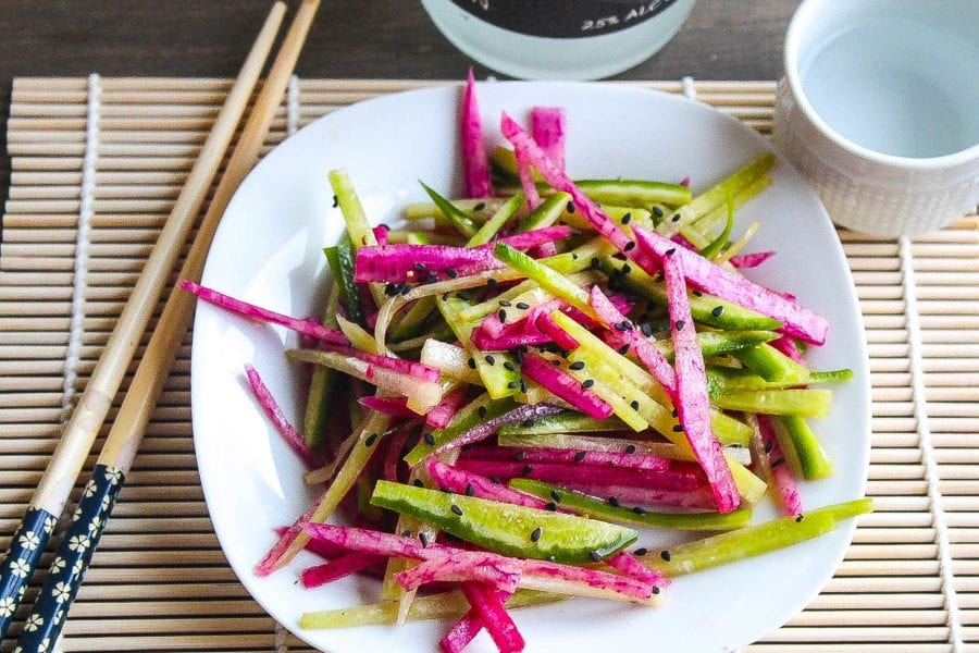 Asian Daikon Salad