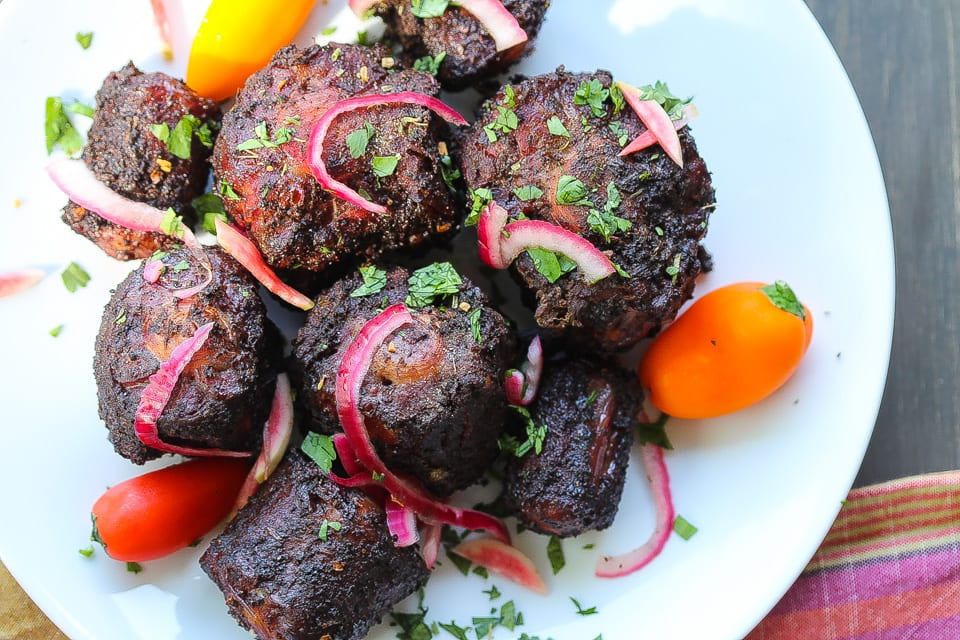 grilled oxtails