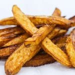 """""""Law of Attraction"""" belgian fries cooked in Duck Fat"""