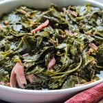 """Sky's The Limit"" Southern Collard Greens With Smoked Turkey"