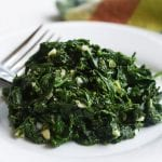 """ring the alarm"" Quick Spinach Salad with Lemon Garlic Sauce"