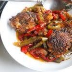 """""""black folk"""" Jamaican brown stew chicken (instant pot)"""